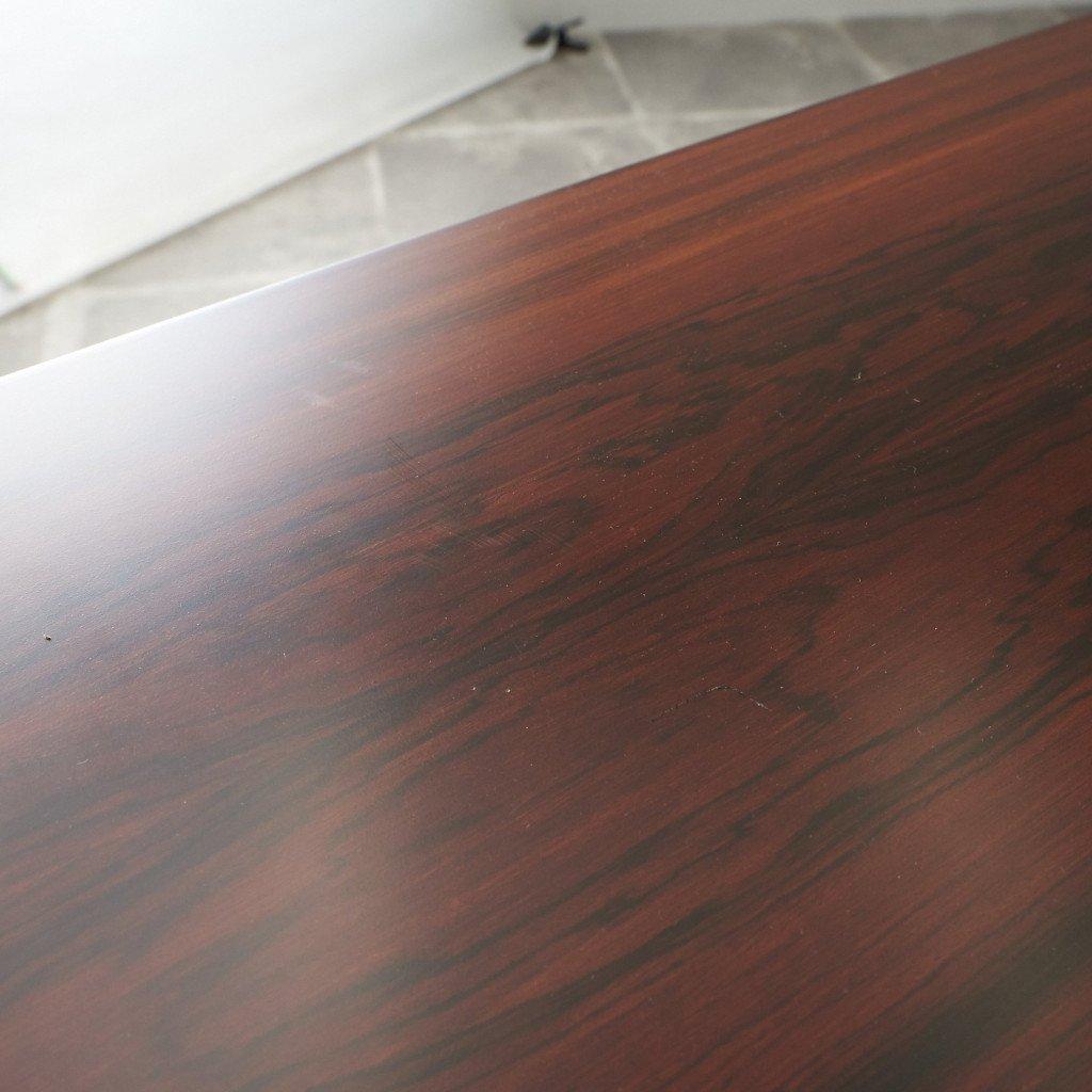 #42783 北欧ヴィンテージ ローズウッド材 ドローリーフテーブル コンディション画像 - 14