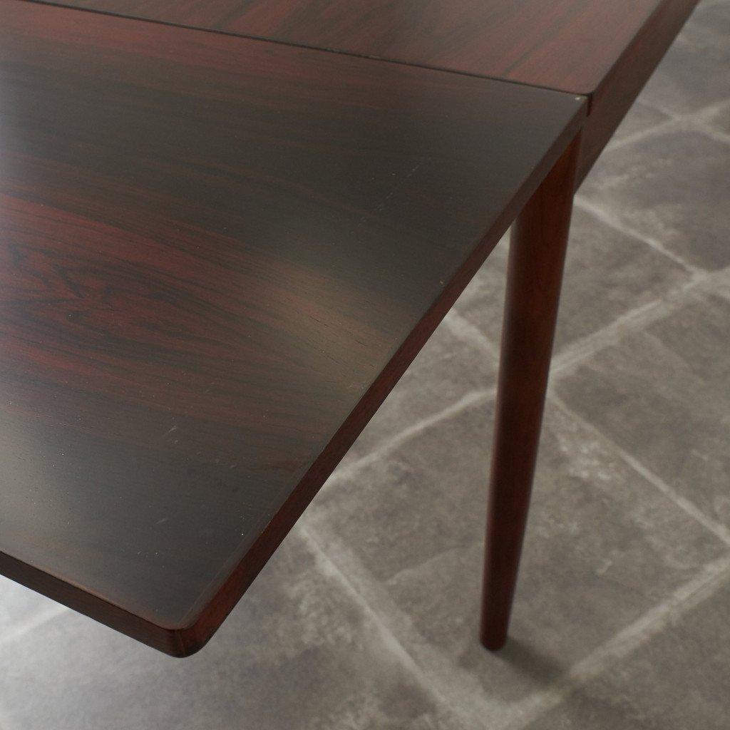 #42783 北欧ヴィンテージ ローズウッド材 ドローリーフテーブル コンディション画像 - 13