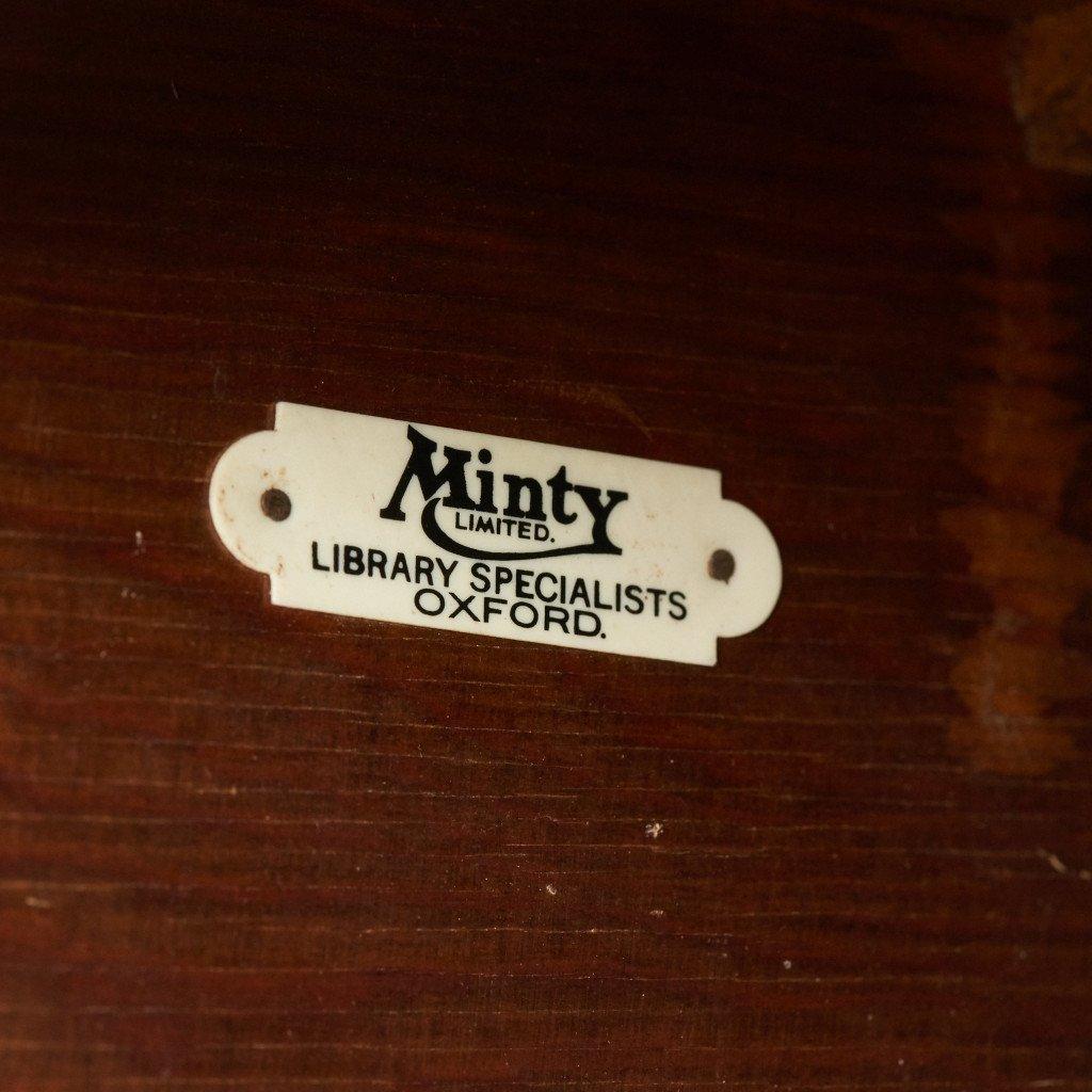 ミンティ オックスフォード Minty Oxford イギリス アンティーク 4スタッキング ブックケース