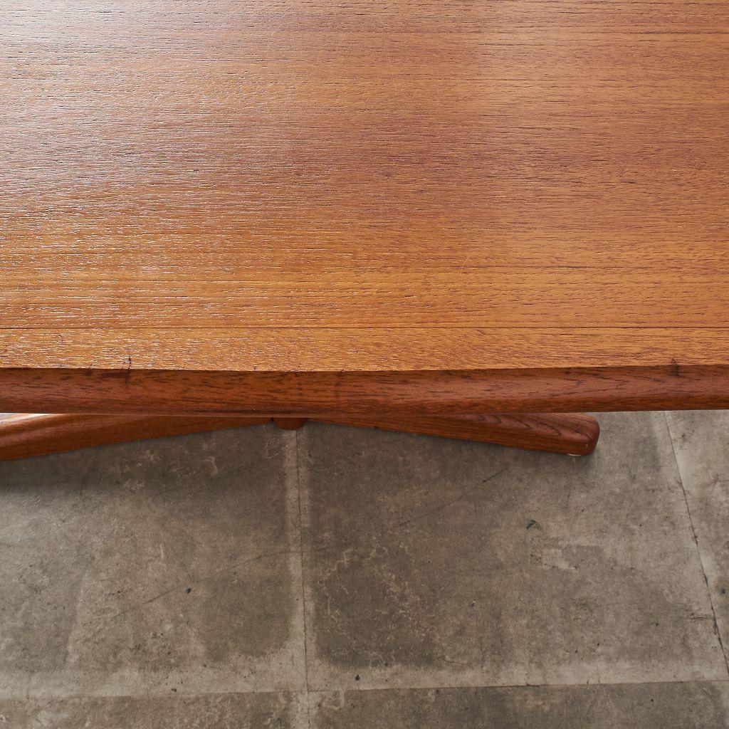 デンマーク製 ヴィンテージ エクステンション ダイニングテーブル
