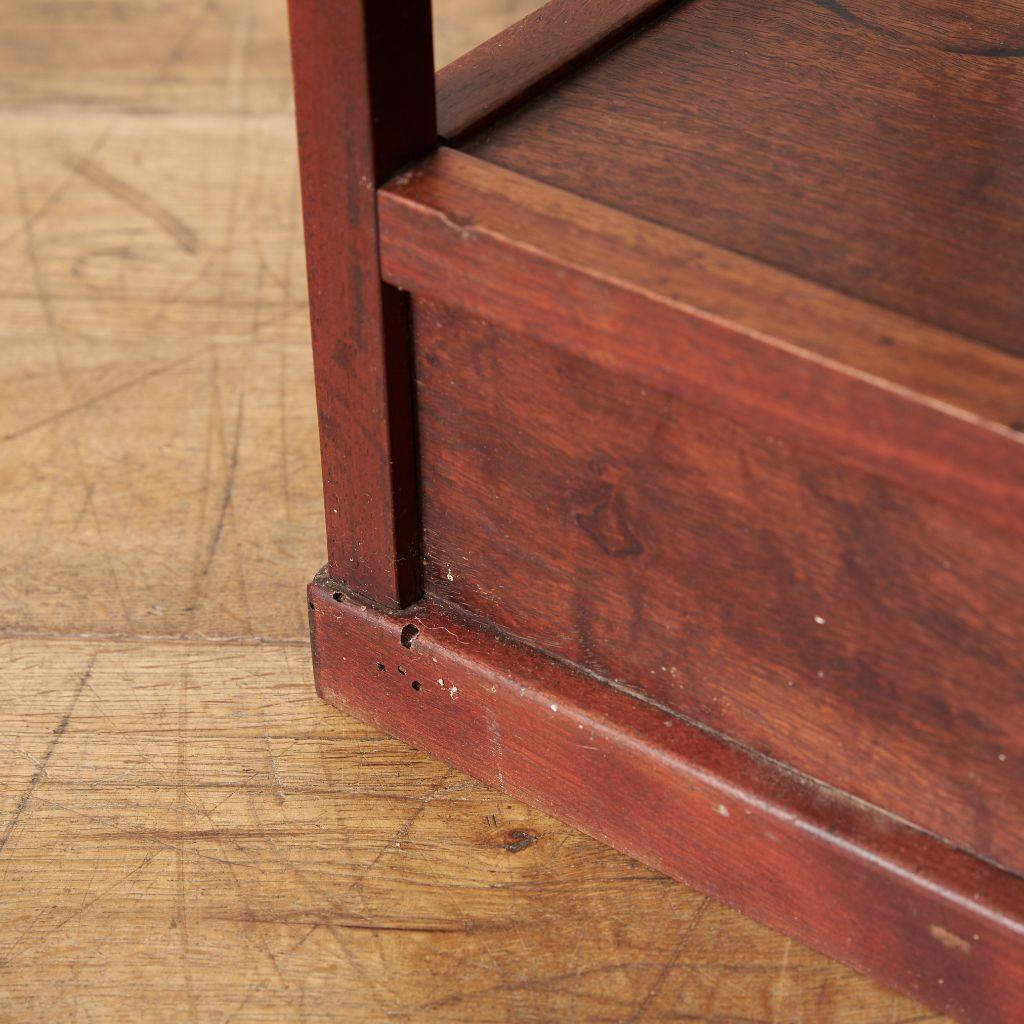 紫檀材 唐木茶棚