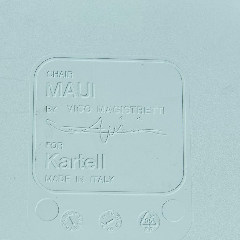 カルテル Kartell Maui チェア 4脚セット