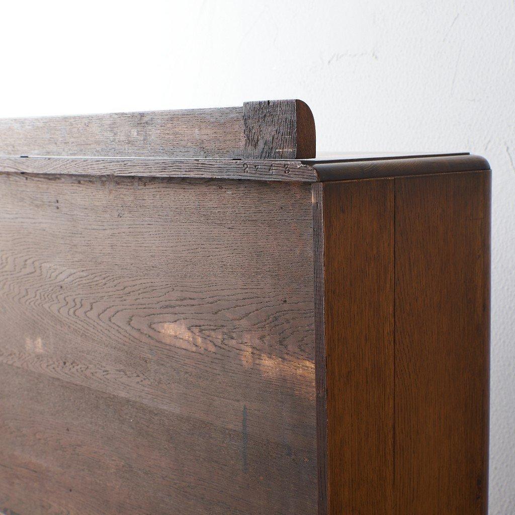 英国アンティーク アールデコスタイル ブックケース