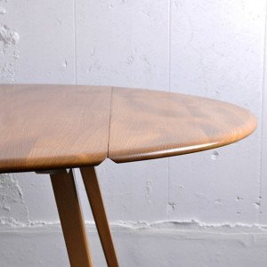 Ercol Oval Dropleaf Table / 1806-0012-1