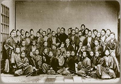 江戸の武士達