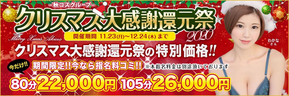 【期間限定】クリスマス大感謝還元祭スペシャル価格!