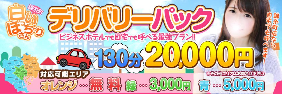 東京23区全てコミ120分20,000円