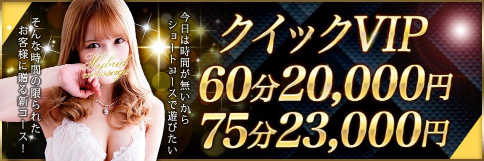 8/6始動 人気の「クイックVIPコース」に新プラン登場