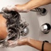 36)洗髪