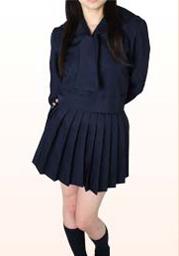 川◯学園 冬服