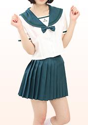 成◯国際高等学校 夏服