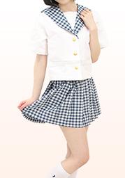 聖◯学園高等学校 夏制服