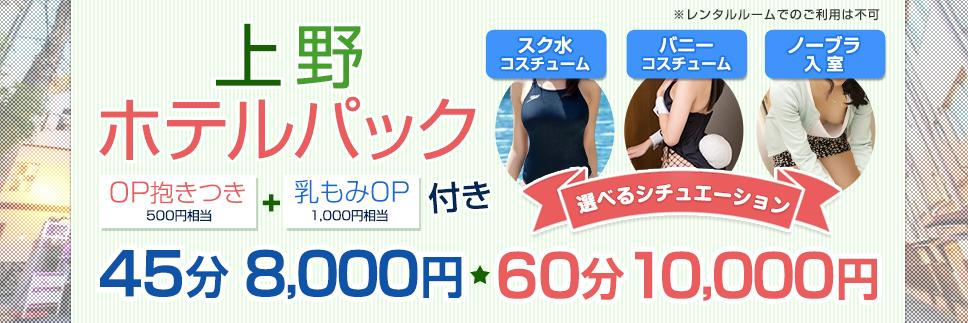新!上野ホテルパック開催です!イチオシはバニーコス!