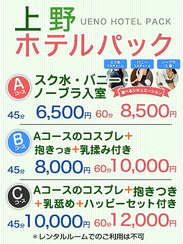 【新】上野ホテルパック