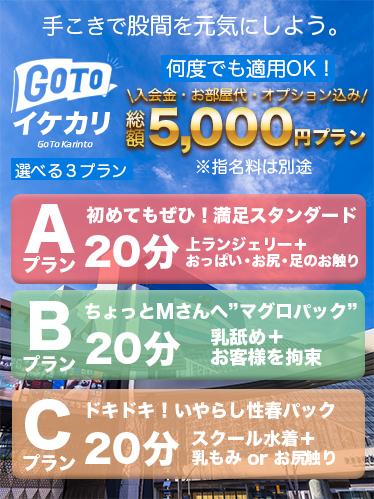 GoTo総額5000円プラン!