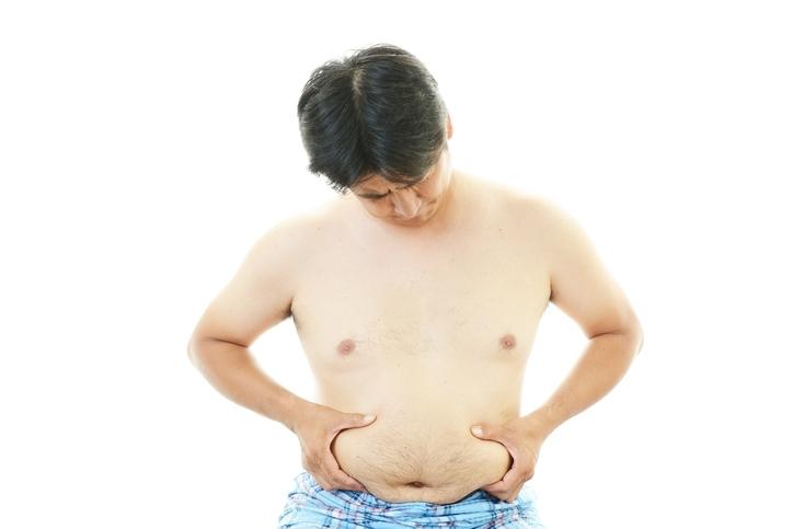内臓脂肪のセルフチェックリスト