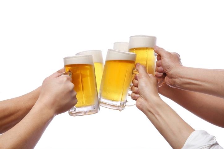お酒の摂取量を減らす