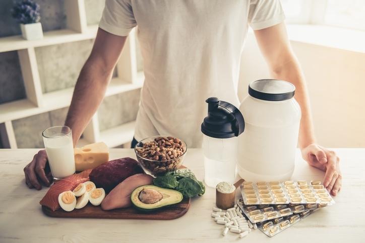 タンパク質と亜鉛を積極的に摂取する