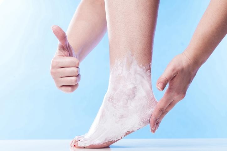 殺菌効果のある石鹸を使う