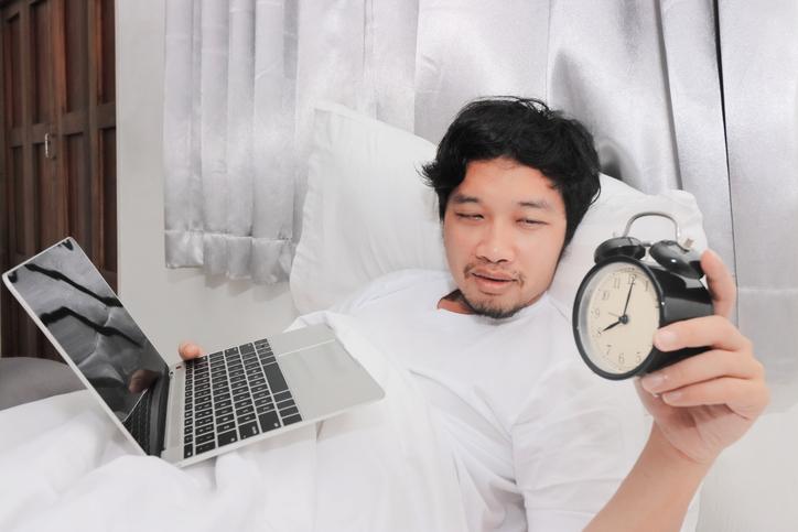 睡眠の質が悪い