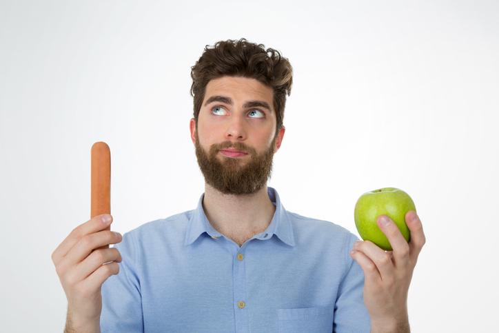 食べる食材に気をつける