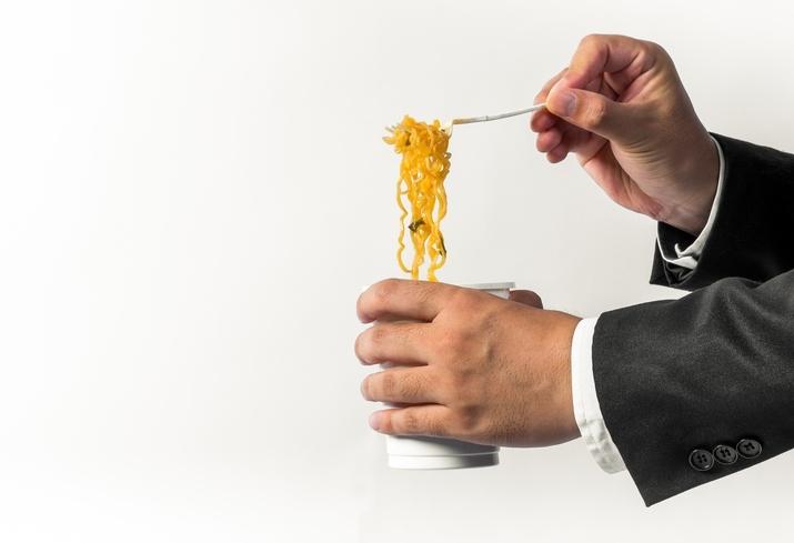食生活の栄養バランスが偏っている