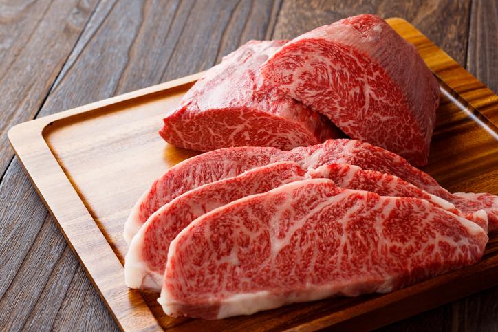 高級ステーキ肉