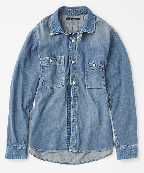 おすすめの長袖シャツ②|こなれ感を醸し出す「ワークシャツ」