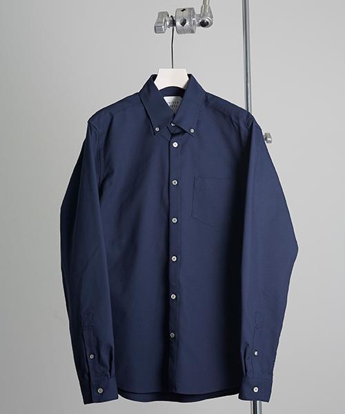 おすすめの長袖シャツ③|清潔感のある「ボタンダウンシャツ」
