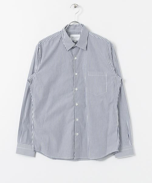 おすすめの長袖シャツ④|特別な着こなしに「ドレスシャツ」
