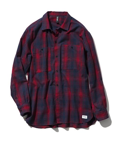 おすすめの長袖シャツ①|おしゃれ感満載の「チェック柄」