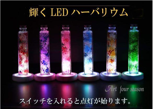 LEDハーバリウム