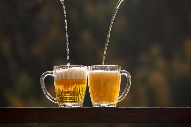 ペアビールグラス
