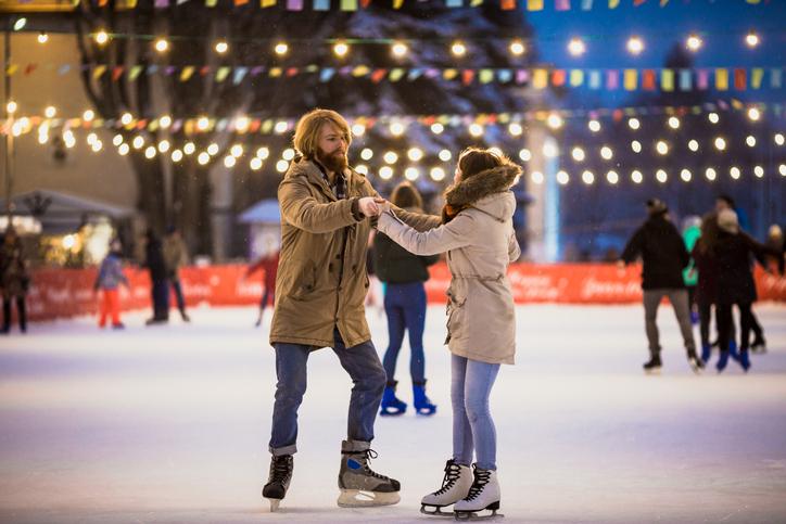 バレンタイン当日の過ごし方 スケートで冬らしさを満喫する