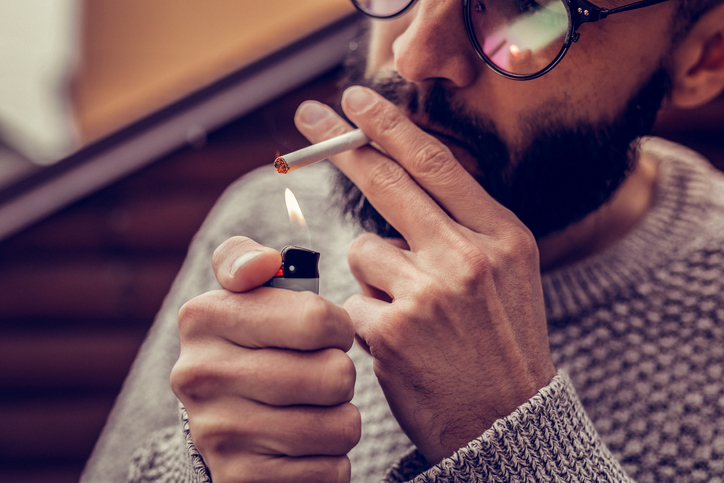 途中で禁煙を挫折してしまう人