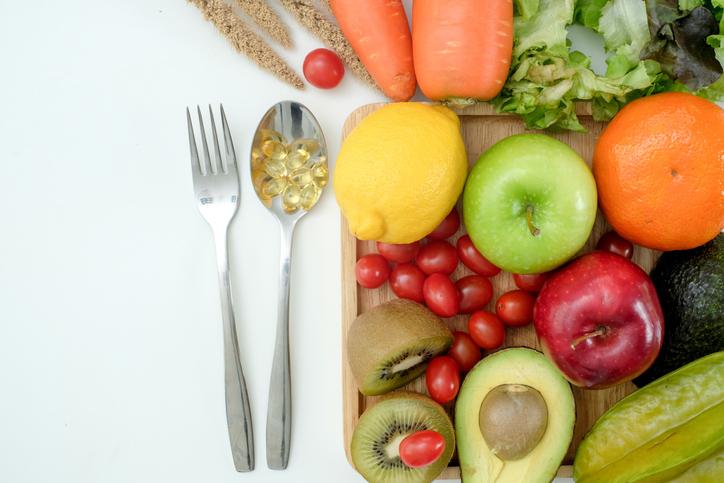 野菜や果物をほとんど食べない