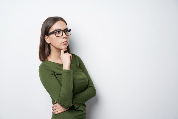 完璧主義で欠点を受け入れられない女性