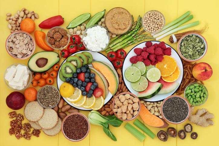 野菜・ナッツ類・果物