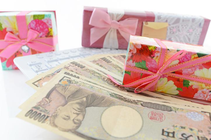 プレゼントの予算はいくら?