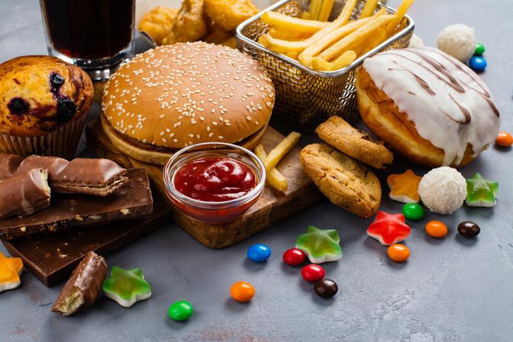 糖分の多い食べ物