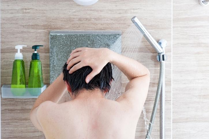 お風呂でできるヘッドマッサージのやり方