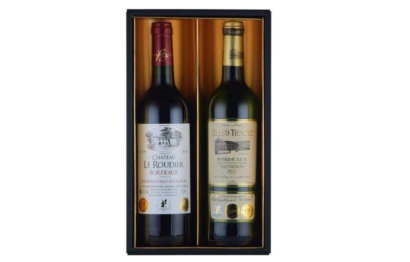 コンクール金賞の赤白ワイン